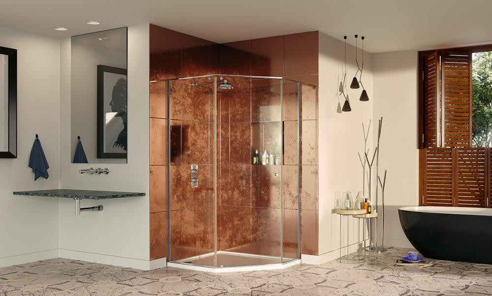 Pentagonal Shower